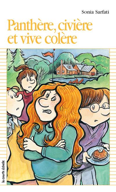Panthère, civière et vive colère - Sonia Sarfati - Pierre Durand - La courte échelle - 9782890214064