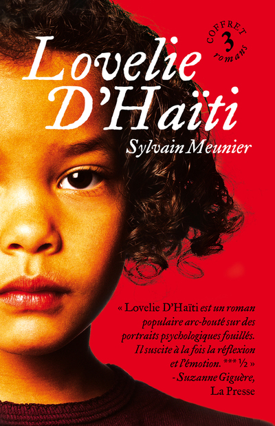 Coffret Lovelie d'Haïti 3 vol. - Sylvain Meunier -   - À l'étage - 9782896956029