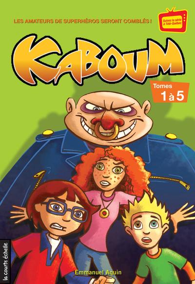 Coffret Kaboum 1 - numéros 1 à 5