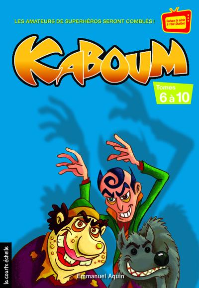 Coffret Kaboum 2 - numéros 6 à 10