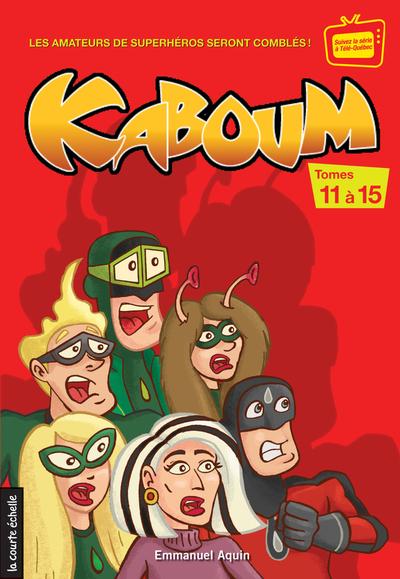 Coffret Kaboum 3 - numéros 11 à 15
