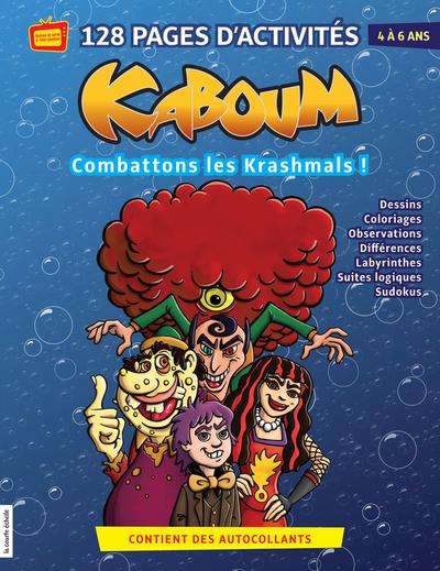 Combattons les Krashmals - Marie-Claude Masson Marie-Claude Masson   - La courte échelle -