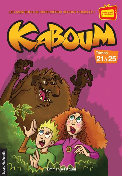 Coffret Kaboum 5 - épisodes 21 à 25