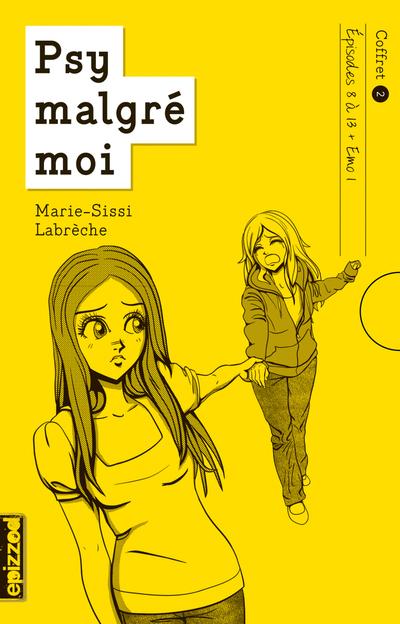 Coffret 2 - Psy malgré moi - épisode 8 à 13 (+ Emo 1) - Marie-Sissi Labrèche Marie-Sissi Labrèche Marie-Sissi Labrèche Sarah Chamaillard - La courte échelle - 9782896516599