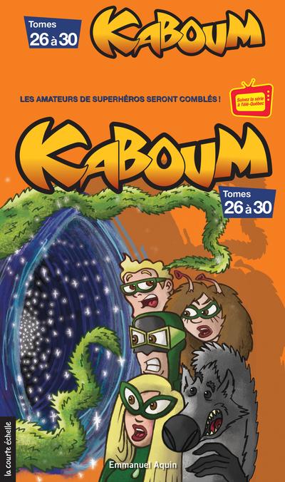 Coffret Kaboum 6 - épisodes 26 à 30