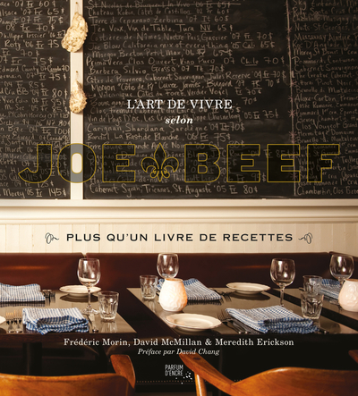 L'art de vivre selon Joe Beef